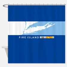 Fire Island - New York. Shower Curtain