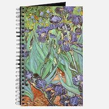 Van Gogh Irises, Vintage Post Impressionis Journal