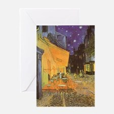 Van Gogh, Cafe Terrace at Night Greeting Cards