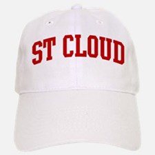 ST CLOUD (red) Baseball Baseball Cap