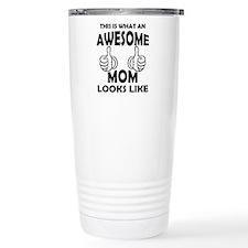 Unique World's okayest mom Travel Mug