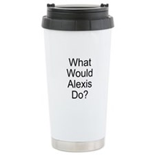 Cute Alexis name Travel Mug