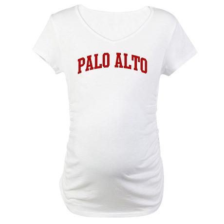PALO ALTO (red) Maternity T-Shirt