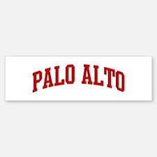 PALO ALTO (red) Bumper Bumper Bumper Sticker