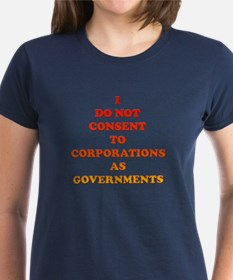 No Corporate Governments Tee