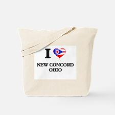 I love New Concord Ohio Tote Bag