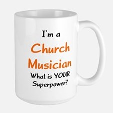 church musician Large Mug