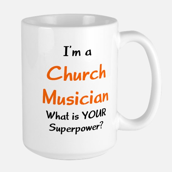 church musician Large Mug