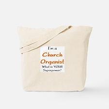 church organist Tote Bag
