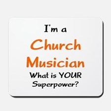 church musician Mousepad
