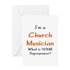church musician Greeting Card
