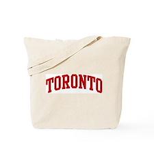 TORONTO (red) Tote Bag
