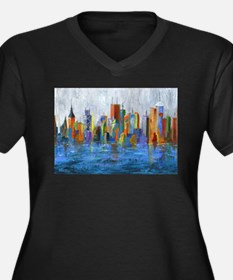 Hong Kong Island Plus Size T-Shirt