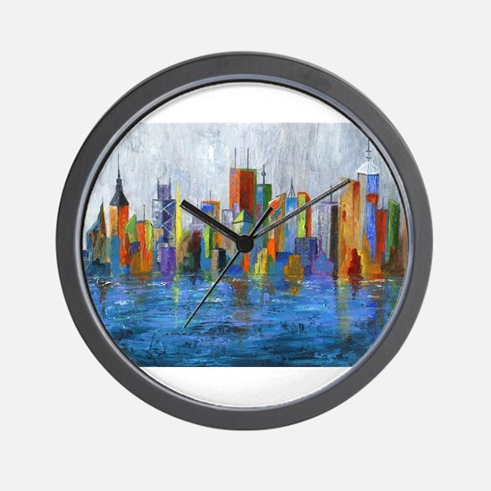 Hong Kong Island Wall Clock
