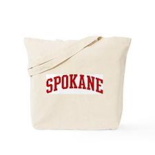 SPOKANE (red) Tote Bag