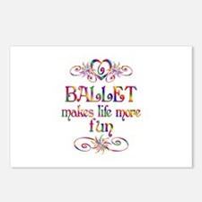 Ballet More Fun Postcards (Package of 8)