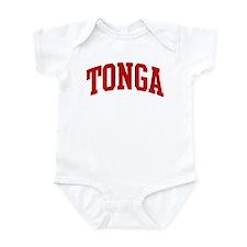 TONGA (red) Infant Bodysuit