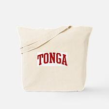 TONGA (red) Tote Bag