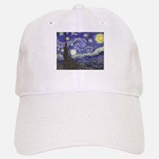 Starry Night by Vincent van Gogh Baseball Baseball Cap