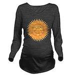 sun_face_2.png Long Sleeve Maternity T-Shirt
