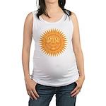 sun_face_2.png Maternity Tank Top