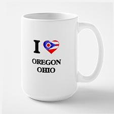 I love Oregon Ohio Mugs