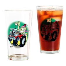 Zombie Hot Rod Dodge Drinking Glass