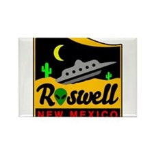 Cute Roswell Rectangle Magnet
