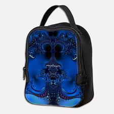 Blue Glory Fractal Neoprene Lunch Bag
