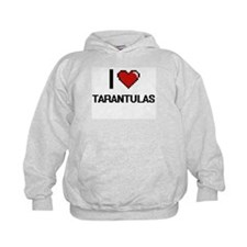 I love Tarantulas Digital Design Hoodie