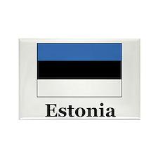 Estonia Rectangle Magnet (100 pack)