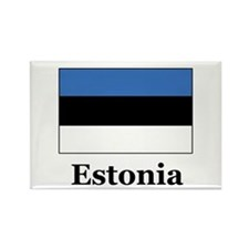 Estonia Rectangle Magnet