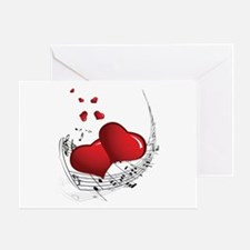 Music from the Heart - Greeting Card