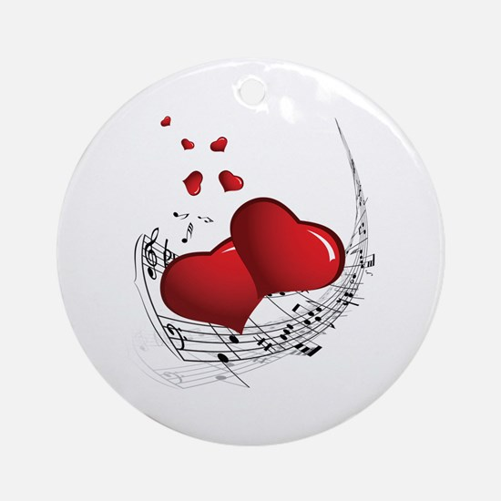 Music from the Heart - Ornament (Round)