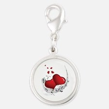 Music from the Heart - Silver Round Charm