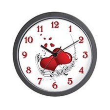 Music From The Heart - Wall Clock
