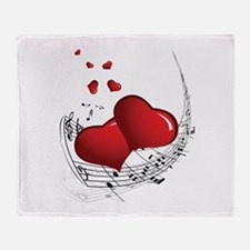 Music from the Heart - Throw Blanket