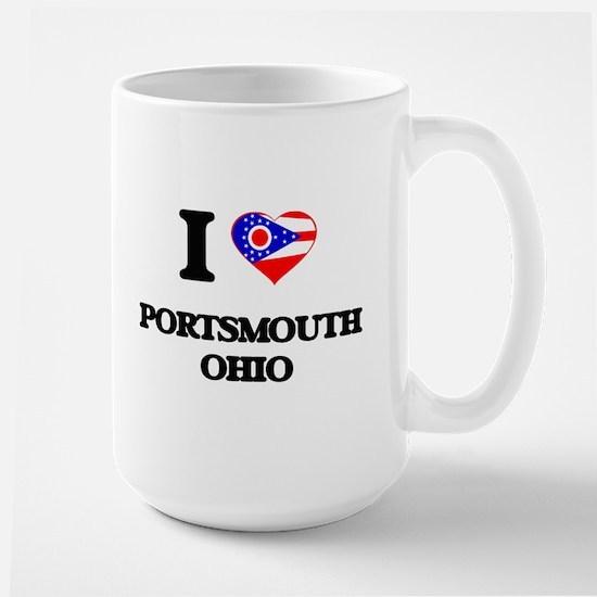 I love Portsmouth Ohio Mugs