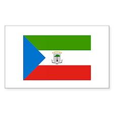Equatorial Guinea Rectangle Decal