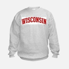 WISCONSIN (red) Sweatshirt
