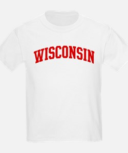 WISCONSIN (red) T-Shirt
