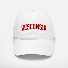 WISCONSIN (red) Baseball Baseball Cap