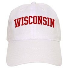WISCONSIN (red) Baseball Cap