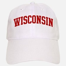 WISCONSIN (red) Cap