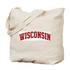 WISCONSIN (red) Tote Bag