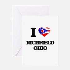 I love Richfield Ohio Greeting Cards