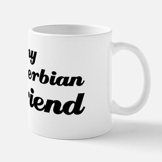 I love my Serbian boy friend Mug