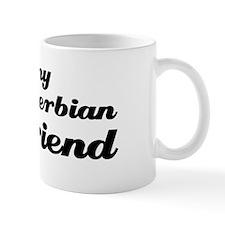 I love my Serbian boy friend Small Mug