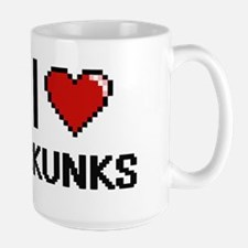 I love Skunks Digital Design Mugs