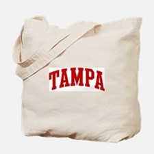 TAMPA (red) Tote Bag